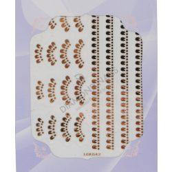 Nails Adesivi Decorativi Argento - IGK-42