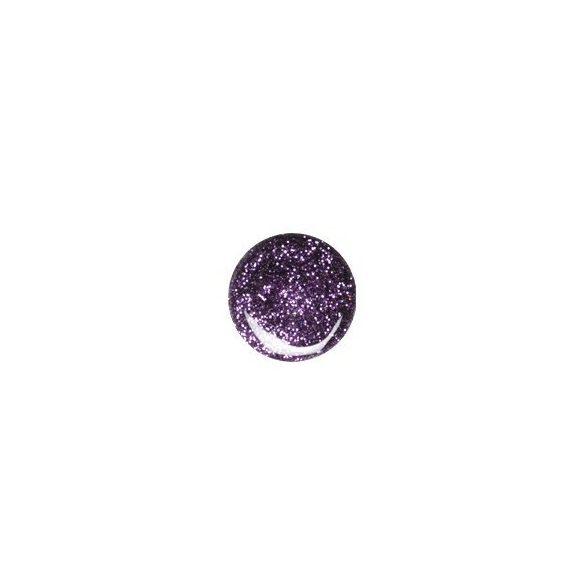 Gel Viola Scuro Glitterato 075