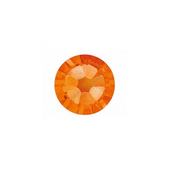 Swarovski Strass Arancio Grande Tondo 100pz