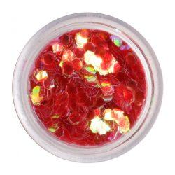 Glitter Rosso - Hologram
