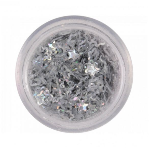 Fiorellini di Plastica - Argento
