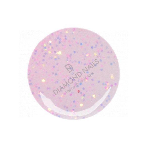 Gel Pink Pallido Glitterato 154