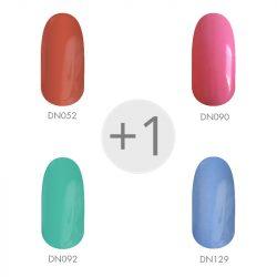 Gel Polish - Colori di primavera 4+1