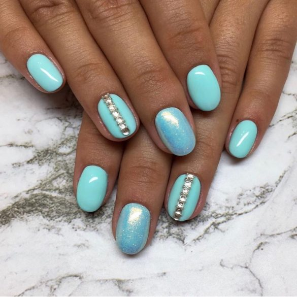 Gel Polish - DN235 - Candy Mint
