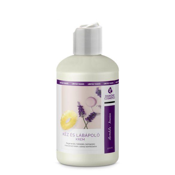 Crema curante mani e piedi -  Lavanda e Ananas 500 ml