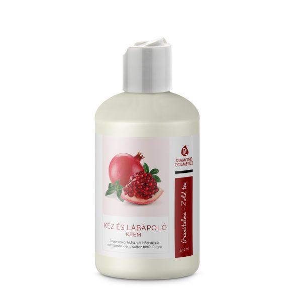 Crema curante mani e piedi - Melograno e Tè Verde 500 ml