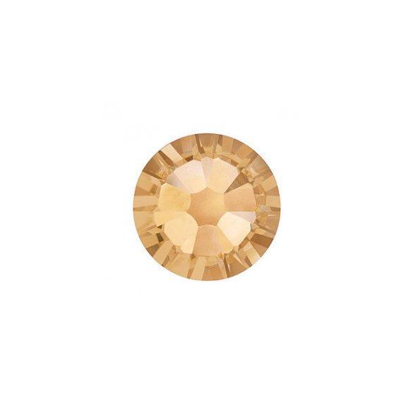 Swarovski Strass Oro Grande Tondo 100pz