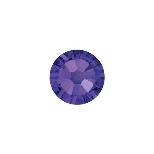 Swarovski Strass Viola Scuro Grande Tondo 100pz