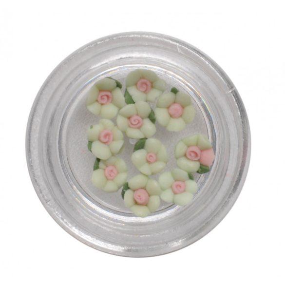 Fiorellini in Acrilico - Smeraldo  3mm