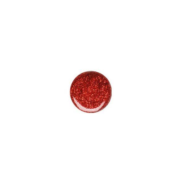 Gel Rosso Glitterato 070