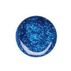 Gel Blu Scuro Glitterato 074
